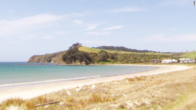 The view from Cooper's beach-side home along the Auckland coast. Of her home country, Cooper says it's a source of great creativity and freshness. &quot;Being the first people to see the sun rise each morning, gives us a sort of freshness, an edginess,&quot; she said.
