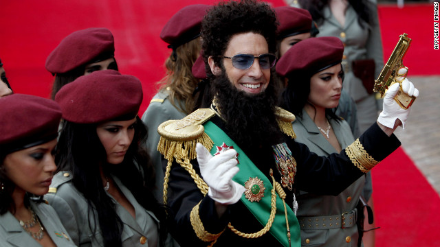 Sacha Cohen arrives in London for the UK premiere of 