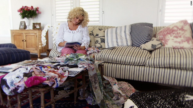 Trelise Cooper, pictured here at her home in Auckland, is an internationally acclaimed fashion designer. Having established herself with a range of popular boutique stores in the 1980s, the New Zealander went on to design clothes for the likes of Liv Tyler, Julia Roberts and even the cast of U.S. sitcom Sex and the City.