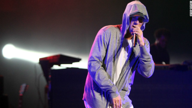 "Eminem rapped about murdering his now ex-wife in the 2000 song <a href='http://www.youtube.com/watch?v=OcUgsvpchms' target='_blank'>""Kim."" </a>"