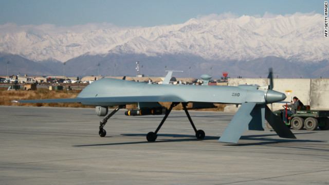 U.S. drone strikes killed seven al Qaeda militants and eight civilians in southern Yemen on Tuesday, Yemeni officials said.