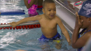 Swim lessons help minority children break cycle
