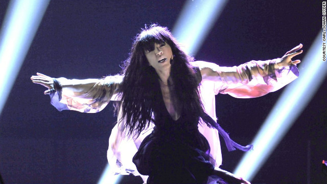 Sweden's entry this year, Loreen, was the bookies' favorite with &quot;Euphoria&quot; and she duly delivered.