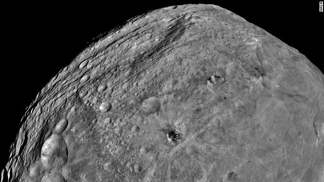 NASA's Dawn spacecraft obtained images of asteroid Vesta, which, in 2012, was declared a &quot;protoplanet.&quot;