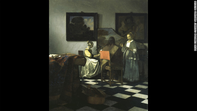 &quot;The Concert&quot; by Vermeer