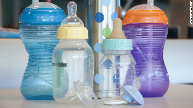 Pacifiers, bottles and sippy cups: Handle with care