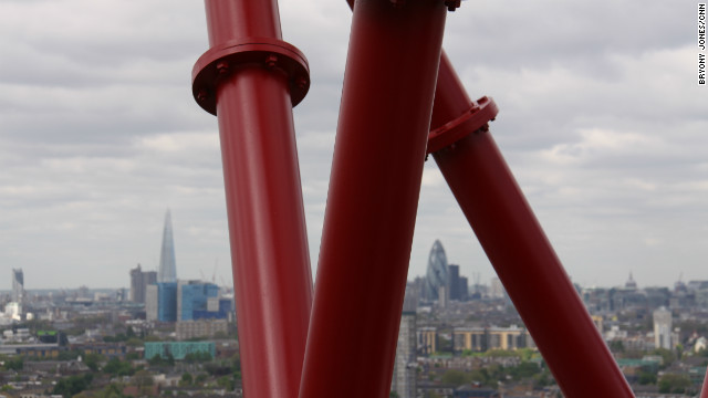 Some of London's most famous landmarks, including the Shard, the Gherkin and St Paul's Cathedral, can be spotted from the top.