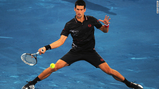 Novak Djokovic, who beat Nadal in last year's final on red clay, has been an outspoken critic of the surface, saying: &quot;I played my first official match on blue clay and I have to admit I was not very happy. Next time I have to bring skates instead of shoes, it was sooo slippery.&quot;