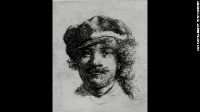 &quot;Self-Portrait&quot; by Rembrandt