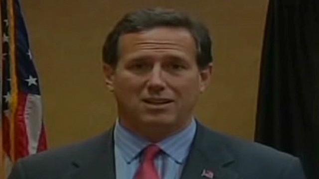 """Santorum insta a Romney a usar como """"arma potente"""" el matrimonio del mismo sexo"""