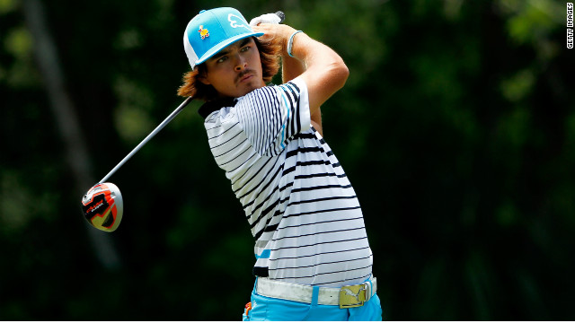Former rookie of the year Rickie Fowler won at Quail Hollow last week for his first PGA Tour title 