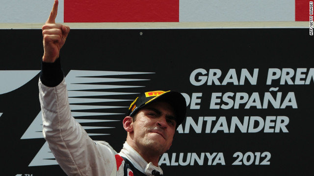 Maldonado's well-judged pit stops proved key to the Venezuelan's victory in Spain.