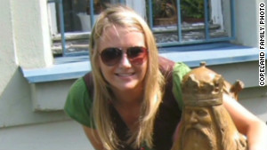 Aimee Copeland was with friends west of Atlanta on May 1, when she she fell off a zip line.