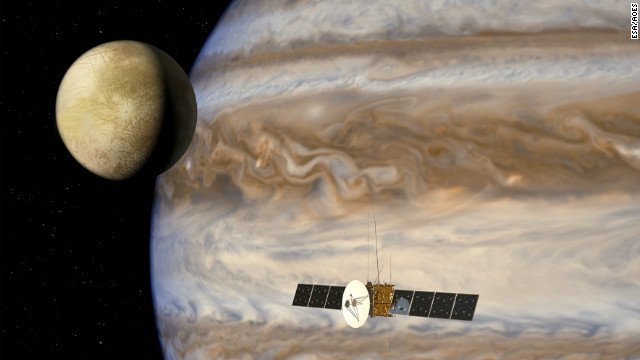 ESA's next stop: Jupiter's icy moons