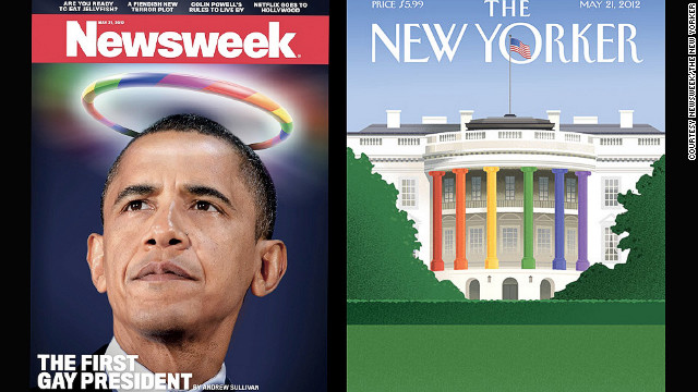 From first black president to 'first gay president'?