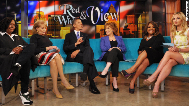 "Obama talks same-sex marriage on ""The View"""