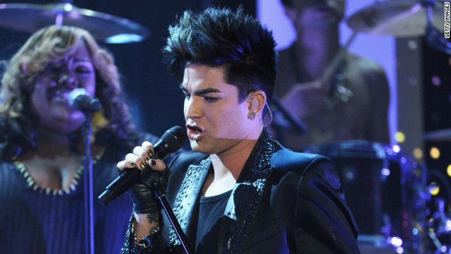Adam Lambert, shown here performing at Logo's 'NewNowNext Awards' 2012 in April.