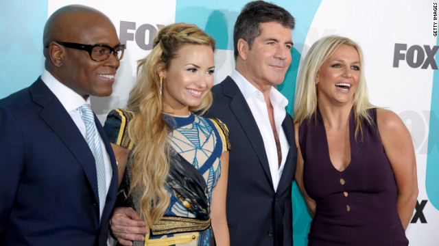 Britney Spears will join L.A. Reid, Demi Lovato and Simon Cowell on