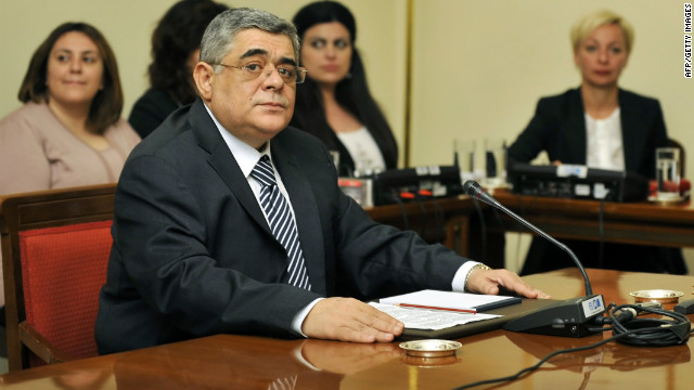 Extreme-right Golden Dawn party leader Nikos Michaloliakos has been condemned over controversial Holocaust comments.