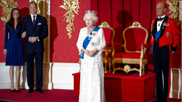 Queen Elizabeth II gets 23rd wax figure