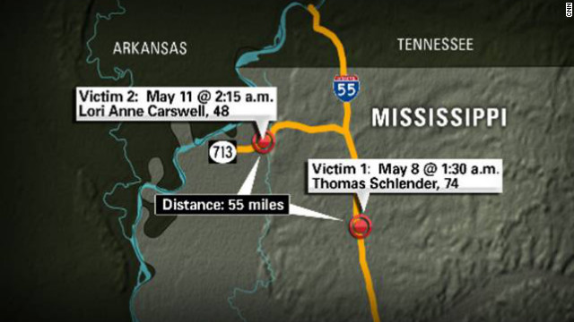 Man questioned in Mississippi highway killings, police say