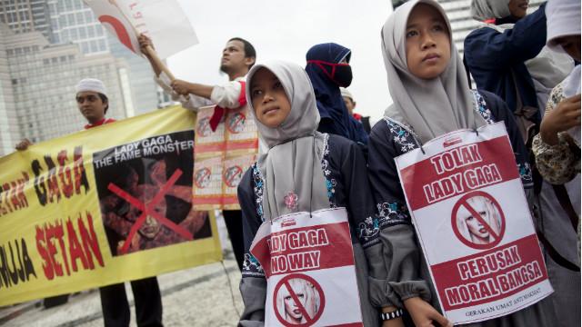 Los «monstruos» de Indonesia podrían perderse el concierto de Lady Gaga