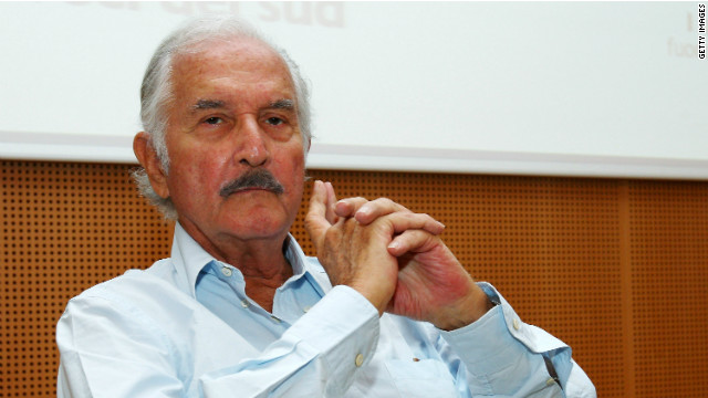 Author Carlos Fuentes in 2008. Fuentes was known for political commentary as well as literary works.