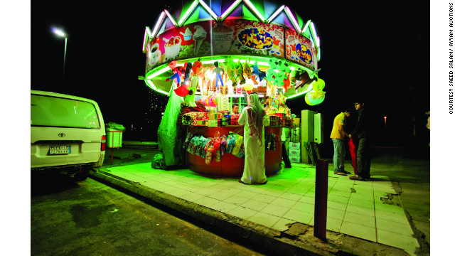 In his series &quot;Neonland,&quot; artist Saeed Salam explores the bright lights of Jeddah, the Saudi Arabian city where he was born and now lives.