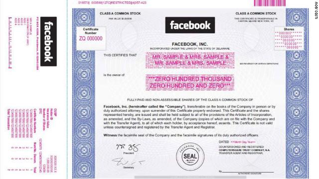 Facebook aumenta su oferta pública inicial en un 25%