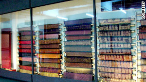 Rare textiles on display at the Crafts Museum