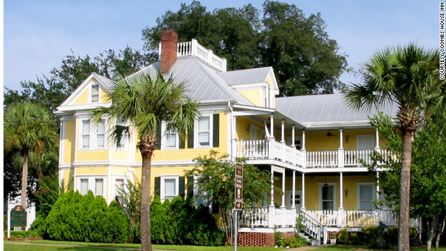 The 23-room Coombs House Inn is spread across three restored Victorian buildings in Apalachicola, Florida. See more photos of the hotels at <a href='http://www.budgettravel.com/slideshow/photo-florida-gulf-coast-hotels,8383/' target='_blank'>BudgetTravel.com</a>.