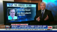 Romney's record creating jobs