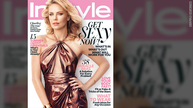 Charlize Theron on what she wants for her son