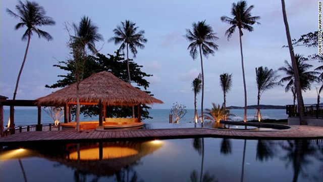 Akaryn Samui's elegant villas in Koh Samui, Thailand, offer four-poster beds, private gardens, sunrise yoga and a tea salon. Travel + Leisure: <a href='http://www.travelandleisure.com/articles/best-affordable-beach-resorts/12' target='_blank'>See more affordable beach resorts</a>