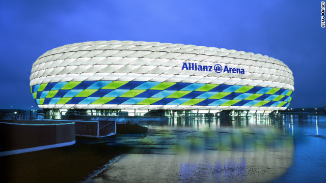 The host venue for Saturday's Champions League final, Bayern Munich's Allianz Arena, has a capacity of 69,000 that the German club sells out for every match.