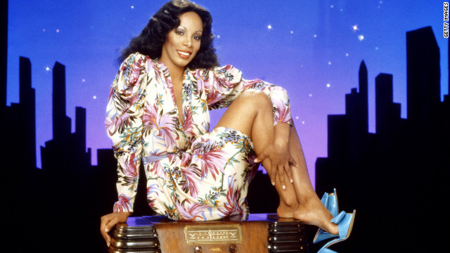 Overheard on CNN.com: Dim all the lights; this 'last dance' goes out to Donna Summer