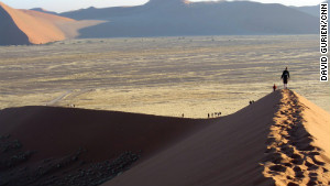 Romancing the dune in Namibia