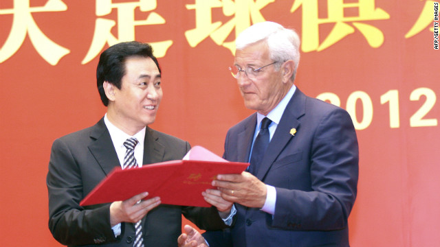 Marcello Lippi, who guided Italy to the 2006 World Cup, is another sought by Russia. He joined Chinese club Guangzhou Evergrande in May.