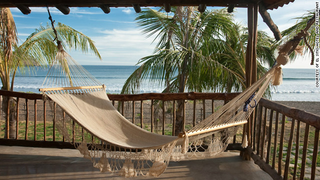 El Sitio Hotel and Restaurant, in Panama's Pacific village of Pedasi, offers rustic-but-stylish accommodations.