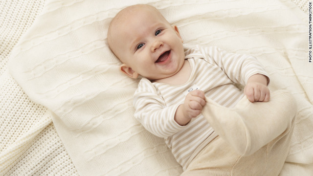 Baby's poor head and neck control may be an autism clue