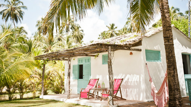Brazil's Northeastern state of Alagoas is home to quiet beaches and Pousada Patacho -- a light-filled hotel with five rooms amid coconut palms and vine-draped terraces. Travel + Leisure: <a href='http://www.travelandleisure.com/articles/best-affordable-beach-resorts/12' target='_blank'>See more affordable beach resorts</a>