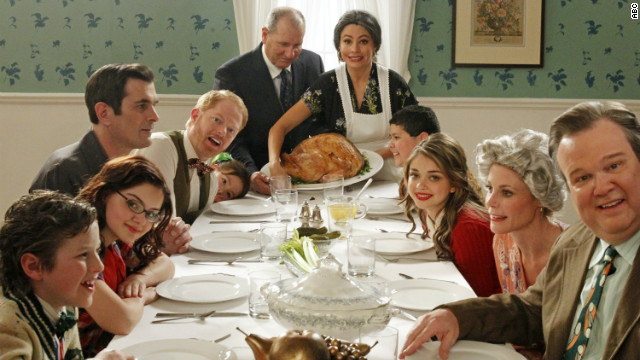 ABC's &quot;Modern Family,&quot; which has picked up a few&lt;a href='http://www.cnn.com/2011/SHOWBIZ/TV/09/19/emmy.awards/index.html' target='_blank'&gt; Emmy Awards&lt;/a&gt; over the course of its four seasons, features an ensemble cast. Among the stars on Steven Levitan and Christopher Lloyd's family comedy are Ed O'Neill and Sofia Vergara.