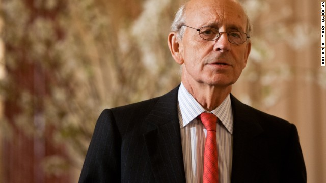 Justice Stephen G. Breyer, 74, was appointed to the court in 1994 by President Bill Clinton. He is considered a member of the court's liberal minority.