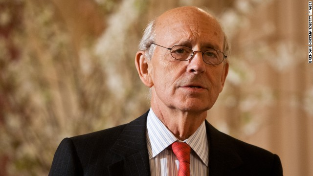 U.S. Supreme Court Associate Justice Stephen Breyer in March 2012.
