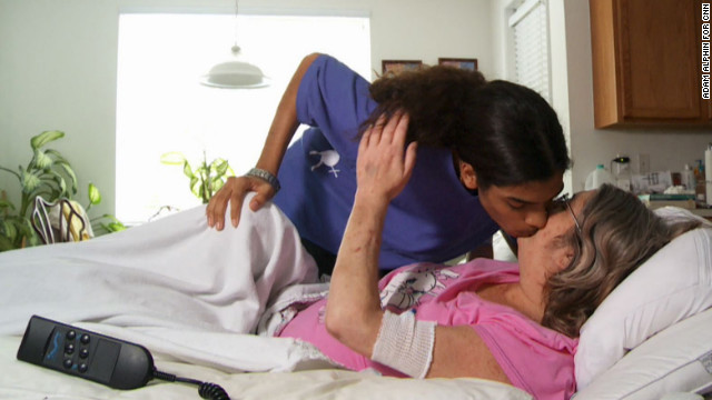 Caring mother helps young naive son - 1 1