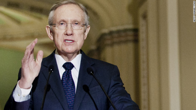 Harry Reid defends 'domestic terrorists' comments