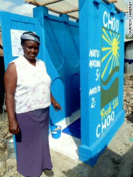 The project sees local entrepreneurs set up bathroom franchises, providing clean and safe toilets to local people at an affordable cost.
