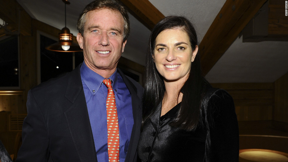 Mary Kennedy, right, from whom Robert F. Kennedy Jr. filed for divorce in 2010, was found dead on Wednesday, May 16. A medical examiner said she died of asphyxiation due to hanging. She was 52.