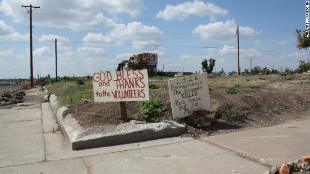 May 22 marks one year since a deadly tornado devastated the city of Joplin, Missouri. Residents are still struggling to rebuild.