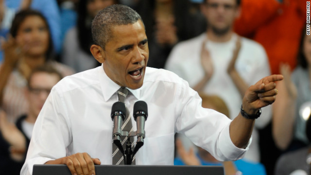 President Barack Obama courts young voters last month at the University of North Carolina at Chapel Hill.